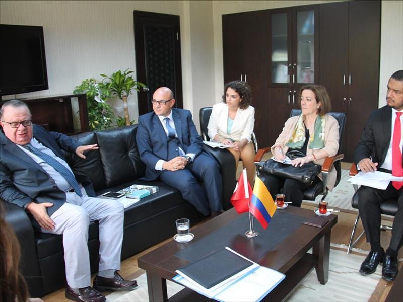 Kolombiya Ankara Büyükelçisi'nin KOSGEB Ziyareti