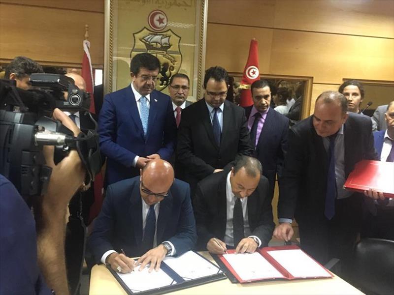 """Türkiye ile Tunus Arasında """"İş Birliği Mutabakat Zaptı"""" İmzalandı"""