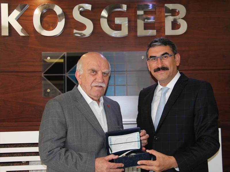 Sanayi ve Ticaret Eski Bakanı Ali Coşkun'un KOSGEB Ziyareti