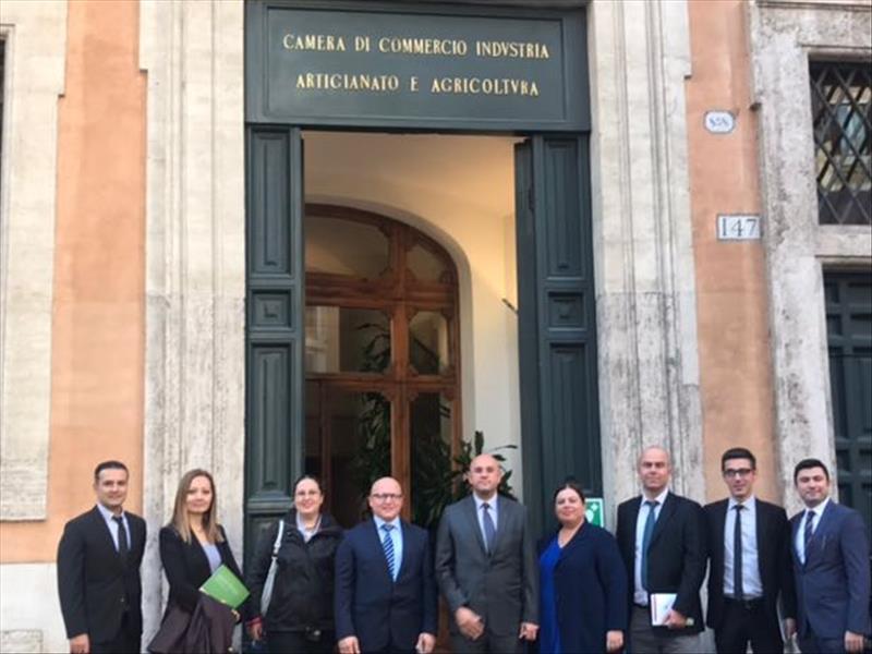 KOSGEB'den İtalya'ya Çalışma Ziyareti