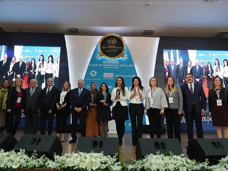 KOSGEB 5. KOBİ ve Girişimcilik Ödülleri Sahiplerini Buldu