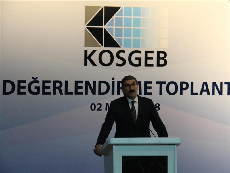 KOSGEB Başkanı Cevahir Uzkurt, İl Müdürleri ile Ankara'da Bir Araya Geldi