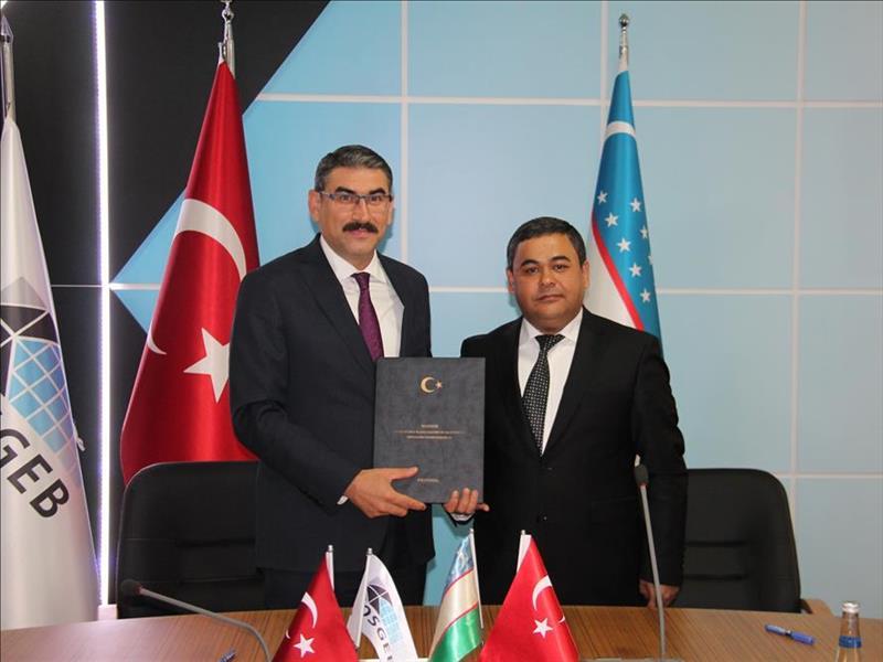 KOSGEB ile Özbekistan Mikrokreditbank Arasında İş Birliği Mutabakat Zaptı İmzalandı
