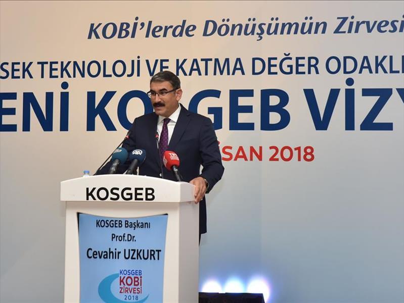 KOSGEB Başkanı Prof. Dr. Uzkurt'tan KOBİ'ler İçin Çözüm Önerileri