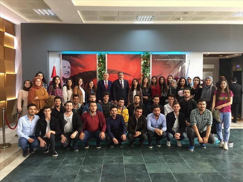 KOSGEB Başkanı Uzkurt, Düzce Üniversitesi Öğrencileri ile Buluştu