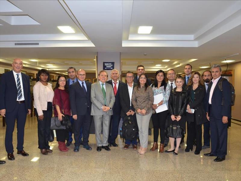 Kolombiyalı İş Adamları İstanbul'a Yatırım İçin Geldi