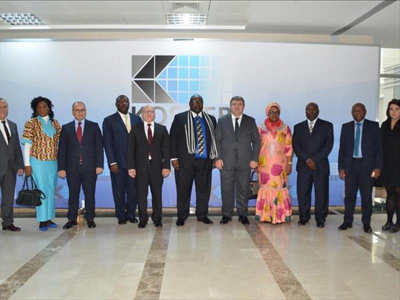 Kamerun KOBİ Destek ve Tanıtım Ajansı'nın KOSGEB Ziyareti