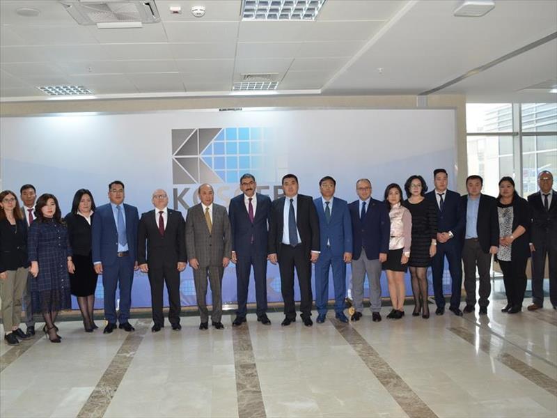 KOSGEB Deneyimlerini Moğolistan'a Aktarmaya Hazır