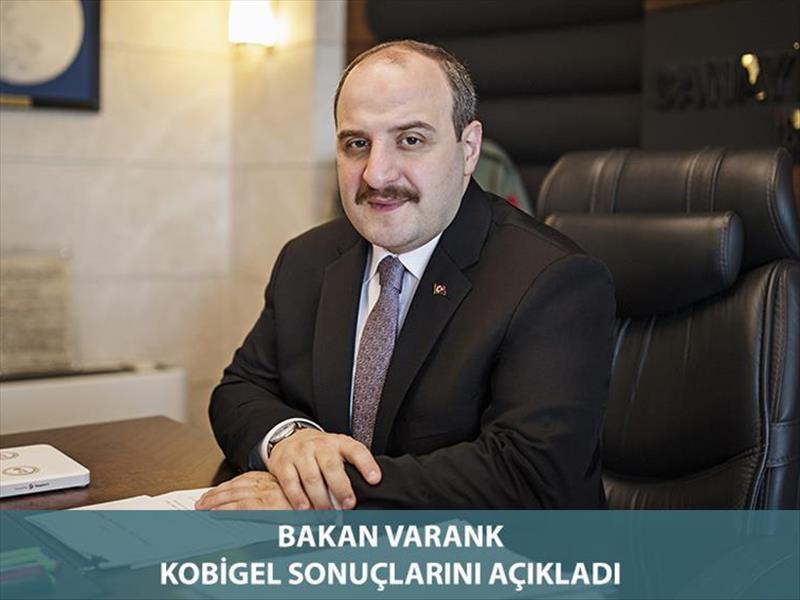 Sanayi ve Teknoloji Bakanı Mustafa Varank KOBİGEL - KOBİ Gelişim Destek Programı  Sonuçlarını Açıkladı