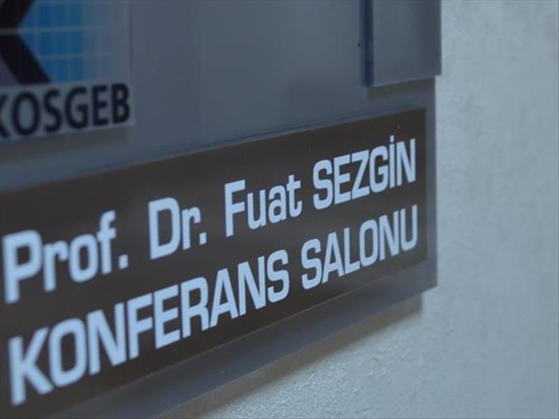 Prof. Sezgin'in Adı KOSGEB'de Yaşayacak