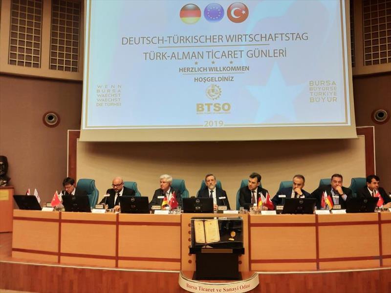 Türk - Alman İşletmeleri Bursa'da Buluştu