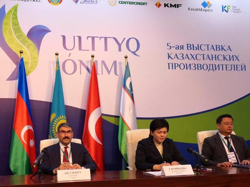 KOSGEB Başkanı Cevahir Uzkurt Kazakistan'da