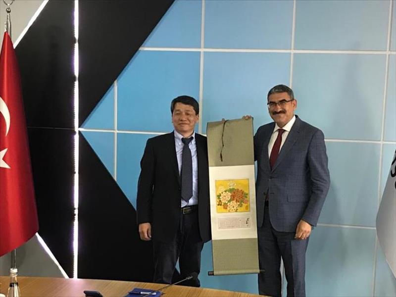 KOSGEB'e Çin'den İş Birliği Ziyareti