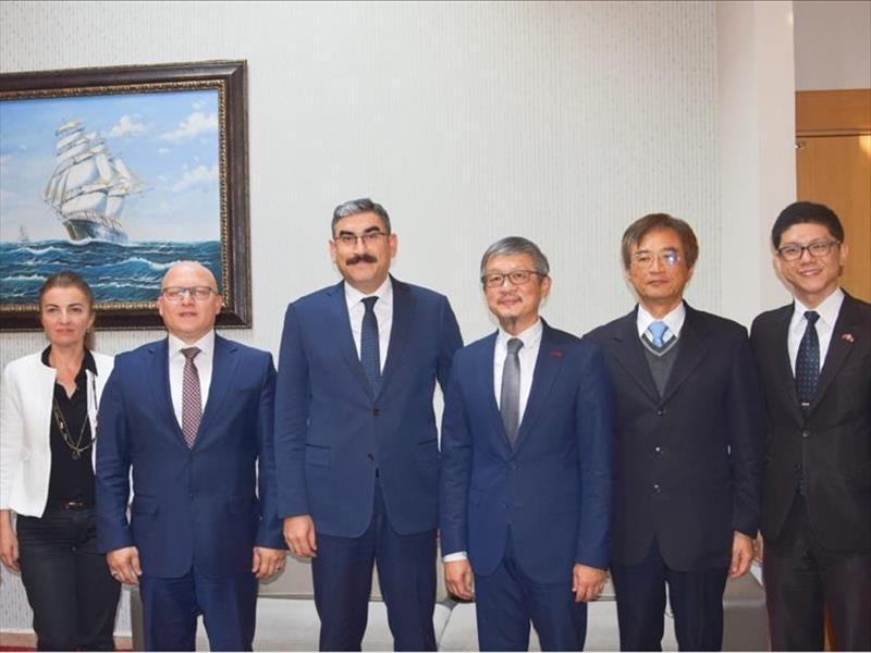 KOSGEB Başkanı Prof. Dr. Uzkurt, Taipei Ekonomi ve Kültür Misyonu ile Bir Araya Geldi