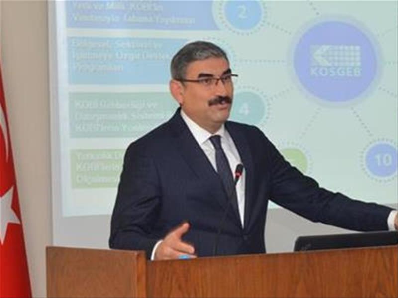 KOSGEB Başkanı Prof. Uzkurt Hacettepe Üniversitesi'nde