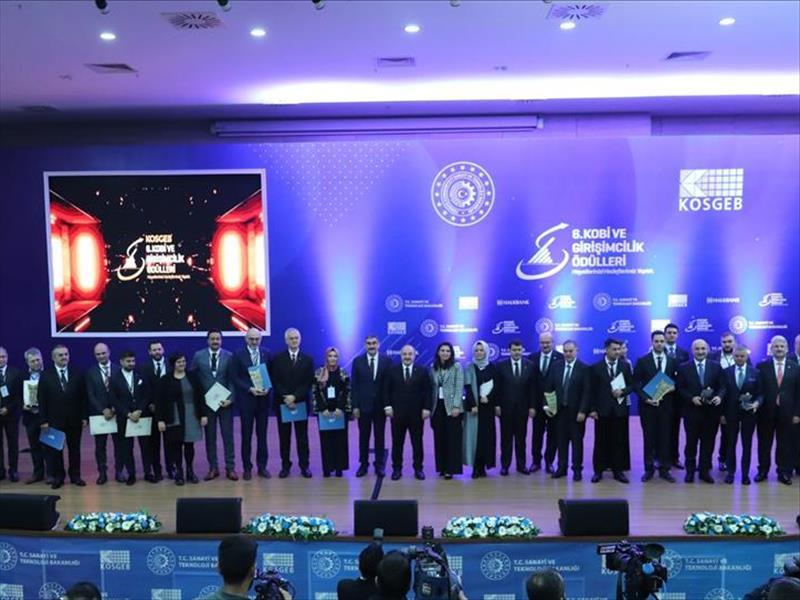 KOBİ ve Girişimcilik Ödülleri Sahiplerini Buldu