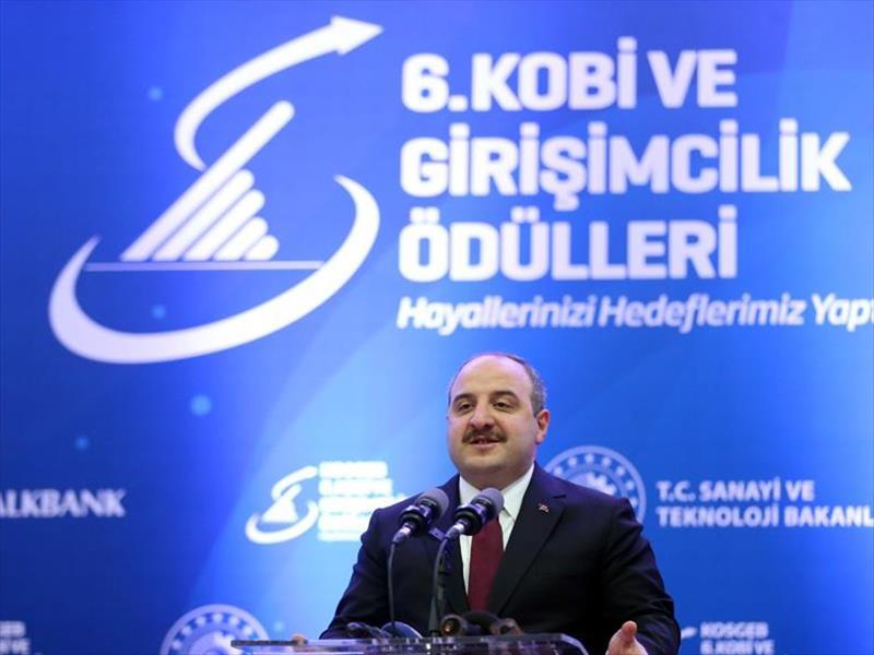 """Sanayi Ve Teknoloji Bakanı Mustafa Varank:  """"KOSGEB 70 Bin İşletmeye 2.3 Milyar TL Kaynak Aktardı"""""""