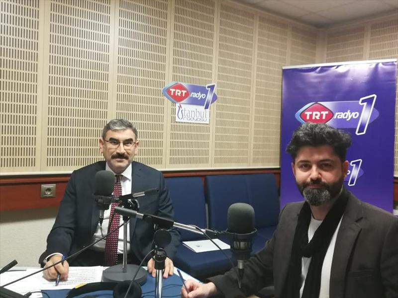 TRT Radyo1'de Elazığ ve Malatya İçin KOSGEB Destekleri Anlatıldı