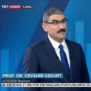 KOSGEB Başkanı TRT Haber'in Konuğu