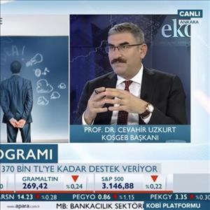 KOSGEB Başkanı Uzkurt A Para TV KOBİ Platformu'na Konuk Oldu