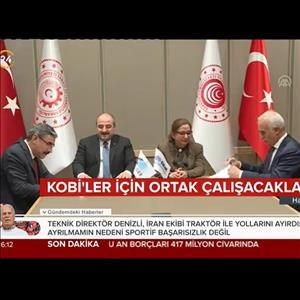 KOSGEB ile DEİK İş Birliği Protokolü (TV 24)