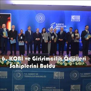 6. KOBİ ve Girişimcilik Ödül Töreni